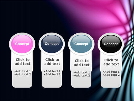 Fuchsia Dark Theme PowerPoint Template Slide 5