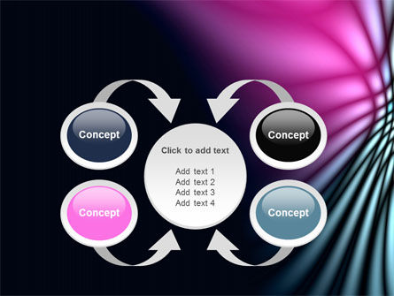 Fuchsia Dark Theme PowerPoint Template Slide 6