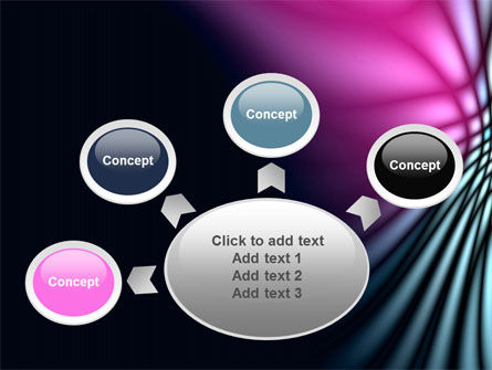 Fuchsia Dark Theme PowerPoint Template Slide 7