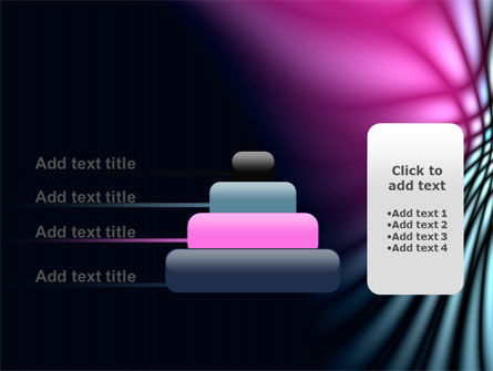 Fuchsia Dark Theme PowerPoint Template Slide 8