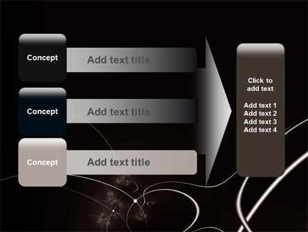 Lines Of Light PowerPoint Template Slide 12