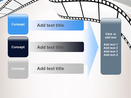 Movie Tape PowerPoint Template Slide 12