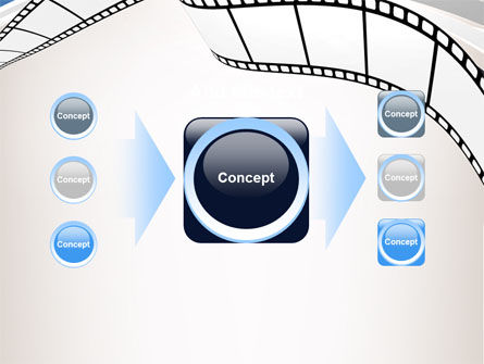 Movie Tape PowerPoint Template Slide 17