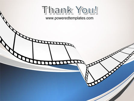 Movie Tape PowerPoint Template Slide 20