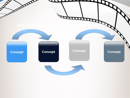 Movie Tape PowerPoint Template Slide 4