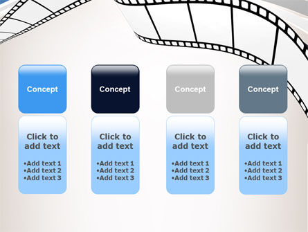 Movie Tape PowerPoint Template Slide 5