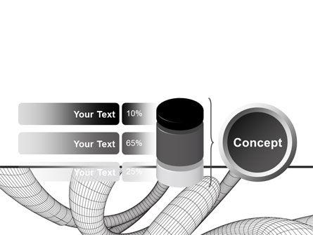 Free 3D Spiral PowerPoint Template Slide 11