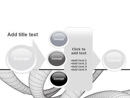 Free 3D Spiral PowerPoint Template Slide 17