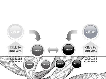 Free 3D Spiral PowerPoint Template Slide 19