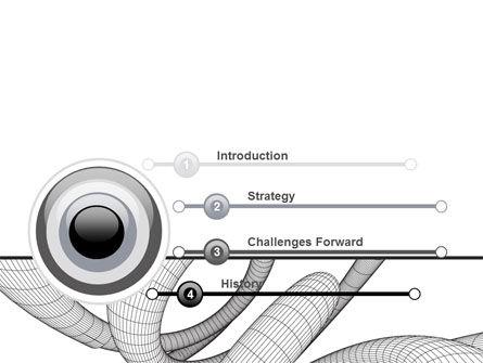 Free 3D Spiral PowerPoint Template Slide 3