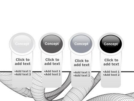 Free 3D Spiral PowerPoint Template Slide 5