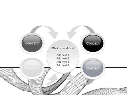 Free 3D Spiral PowerPoint Template Slide 6