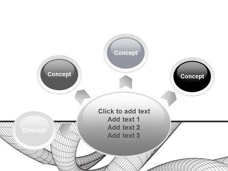 Free 3D Spiral PowerPoint Template Slide 7