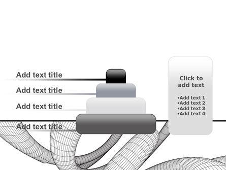 Free 3D Spiral PowerPoint Template Slide 8