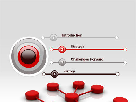 Network Model PowerPoint Template, Slide 3, 07124, Technology and Science — PoweredTemplate.com