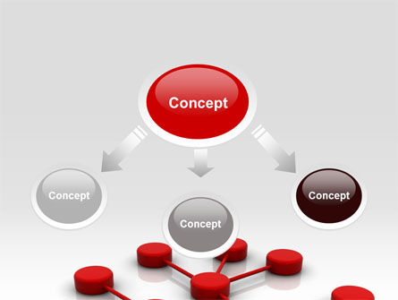 Network Model PowerPoint Template, Slide 4, 07124, Technology and Science — PoweredTemplate.com