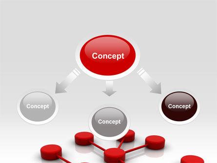 Network Model PowerPoint Template Slide 4