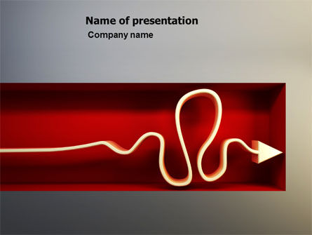 Overcoming The Deadlock PowerPoint Template, 07125, Business Concepts — PoweredTemplate.com