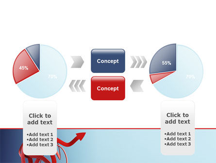 Arrow Knot PowerPoint Template Slide 11