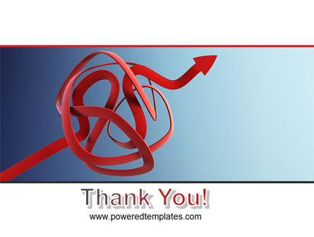 Arrow Knot PowerPoint Template Slide 20