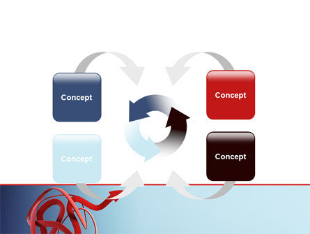 Arrow Knot PowerPoint Template Slide 6
