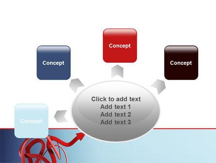 Arrow Knot PowerPoint Template Slide 7