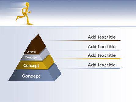 Yellow Running Man PowerPoint Template Slide 12