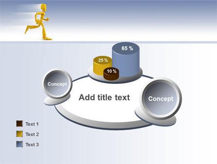 Yellow Running Man PowerPoint Template Slide 16