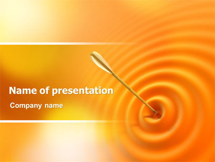 Reaching the Target PowerPoint Template, 07129, Business Concepts — PoweredTemplate.com