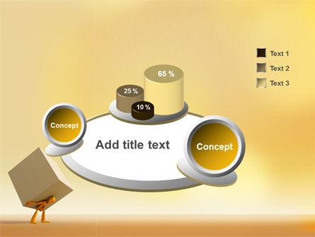 Heavy Burden PowerPoint Template Slide 6