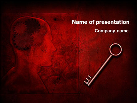Main Key PowerPoint Template