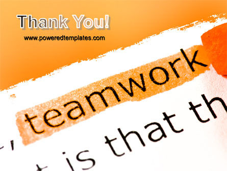 Teamwork Principles PowerPoint Template Slide 20
