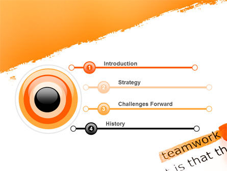 Teamwork Principles PowerPoint Template Slide 3