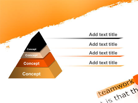 Teamwork Principles PowerPoint Template Slide 4