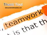 Teamwork Principles PowerPoint Template#20