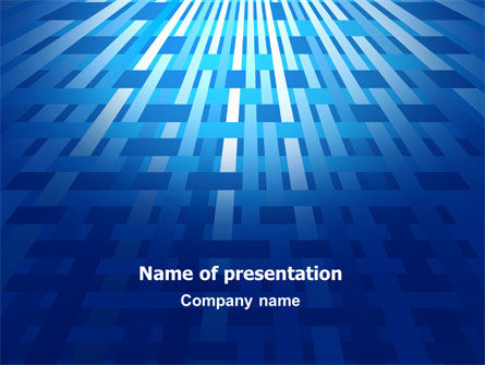 Free Interweaving Theme PowerPoint Template