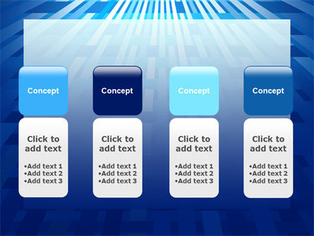 Free Interweaving Theme PowerPoint Template Slide 5