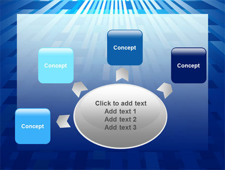 Free Interweaving Theme PowerPoint Template Slide 7