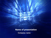 Technology and Science: Future Structures PowerPoint Template #07140