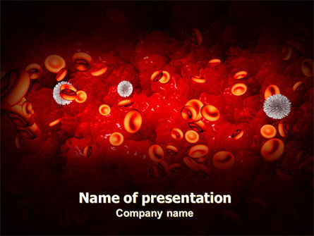 Medical: Virus PowerPoint Template #07141