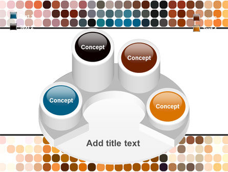 Color Palette PowerPoint Template Slide 12