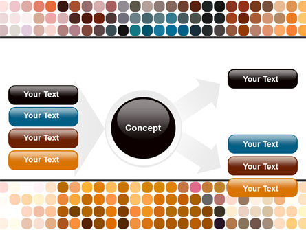 Color Palette PowerPoint Template Slide 14