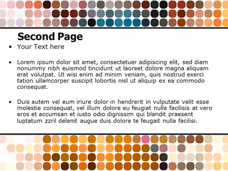 Color Palette PowerPoint Template Slide 2