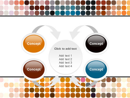 Color Palette PowerPoint Template Slide 6