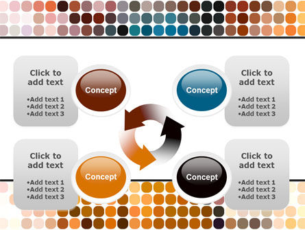 Color Palette PowerPoint Template Slide 9
