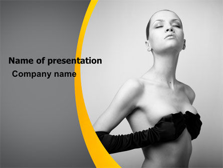 Careers/Industry: Art Of Photography PowerPoint Template #07143