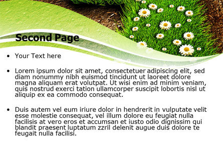 Blooming Path PowerPoint Template, Slide 2, 07145, Nature & Environment — PoweredTemplate.com