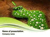 Nature & Environment: Blooming Path PowerPoint Template #07145