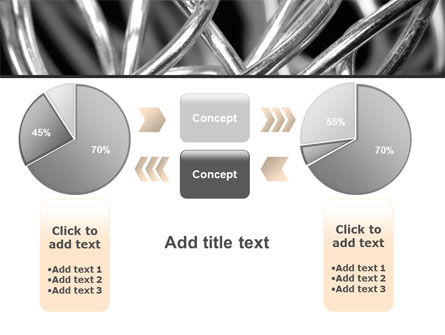 Steel Wires PowerPoint Template Slide 16