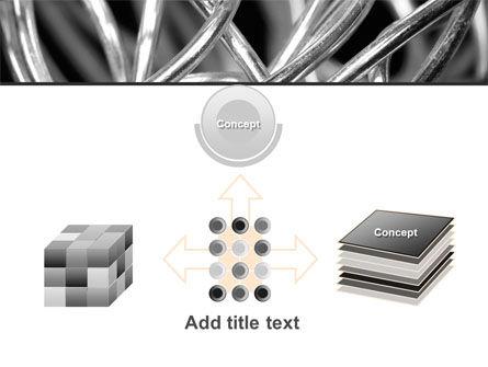 Steel Wires PowerPoint Template Slide 19